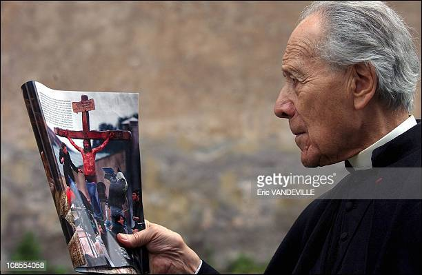 Every morning Father Jean CharlesRoux celebrated mass in Latin for the cast of 'The Passion of the Christ' during the shooting in Italy In his...