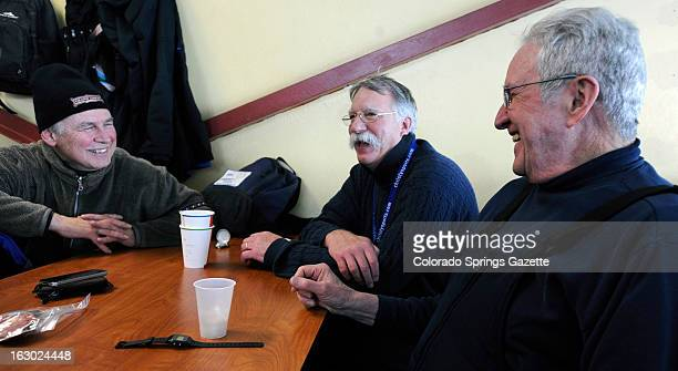 Every Sunday lay ministers Dale Holland Dick Jacquin and Loren 'Stinky' Steinbrink share the minister reponsiblities for the Copper Mountain...