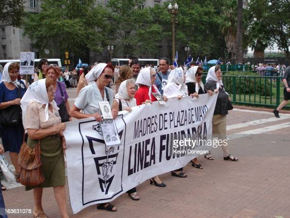 CONTENT] Every Thursday in the Plaza de Mayo in Buenos Aires the square from which Juan and Evita Peron would proclaim from the balcony of the Casa...