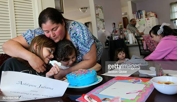 Every year Sandra Rubio has an adoption anniversary party for her two older girls Ashlynn and Aliana They are still waiting for 2yearold Alexandras...
