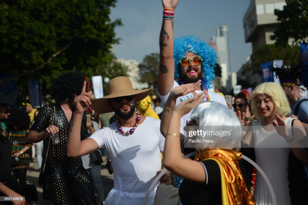 Every year the Municipality of Tel Aviv organises a street rave party in Tel Aviv to celebrate Purim.