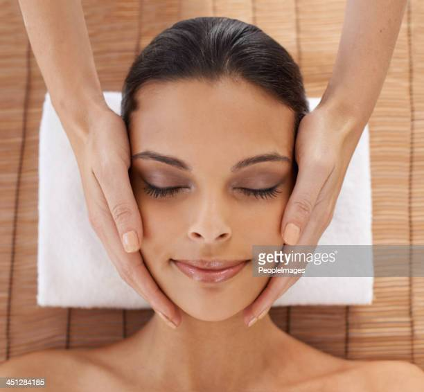 Everybody needs a facial massage