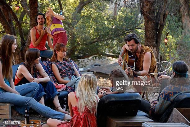 AQUARIUS 'Everybody's Been Burned' Episode 101 Pictured Emma Dumont as Emma Karn Tara Lynne Barr as Katie Ambyr Childers as Sadie Gethin Anthony as...