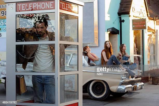 AQUARIUS 'Everybody's Been Burned' Episode 101 Pictured Gethin Anthony as Charles Manson Ambyr Childers as Sadie Emma Dumont as Emma Karn Tara Lynne...