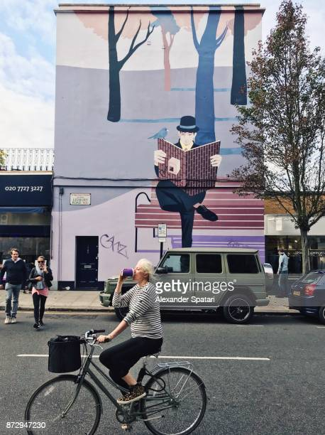 Everyday life in Notting Hill, London, UK