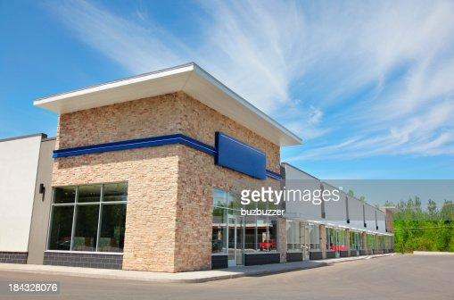 Everyday Store Building Exterior