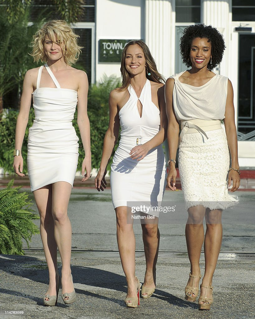 S ANGELS - Everyone deserves a second chance -- even a thief, a street racer and a cop who got in a little too deep. After all, the three women who solve cases for their elusive boss, Charlie Townsend, are no saints. They're angels... Charlie's Angels. 'Charlie's Angels' stars Annie Ilonzeh as Kate Prince, Minka Kelly as Eve, Rachael Taylor as Abby Sampson and Ramon Rodriguez as Bosley. Written and executive-produced by Alfred Gough & Miles Millar. 'Charlie's Angels' is also executive-produced by Drew Barrymore, Leonard Goldberg and Nancy Juvonen. It's directed and executive-produced by Marcos Siega. 'Charlie's Angels' is produced by Millar/Gough Ink, Flower Films and Panda Productions in association with Sony Pictures Television. (Photo by Nathan Bell/ABC via Getty Images)RACHAEL