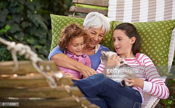 Everyone loves a visit with Grandma