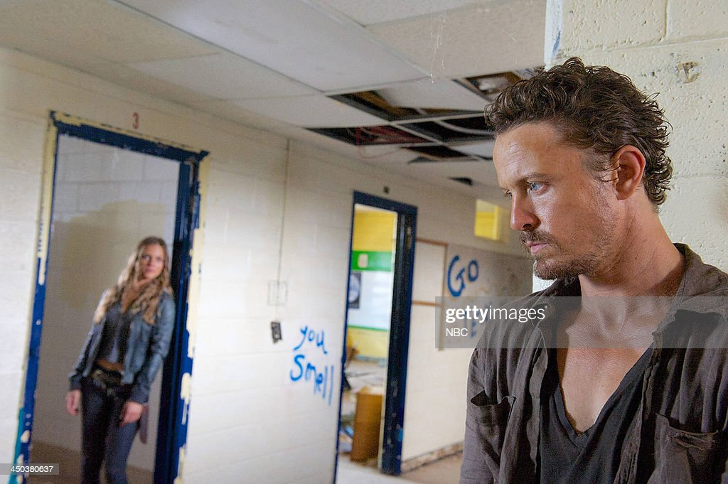 REVOLUTION 'Everyone Says I Love You' Episode 209 Pictured Tracy Spiridakos as Charlie Matheson David Lyons as Sebastian Monroe
