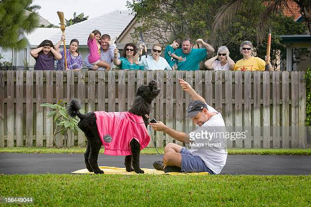Everyone we mean everyone wants to hear more noise out of the neighbor's dog and The Woofer a wearable sound system for dogs fills the bill
