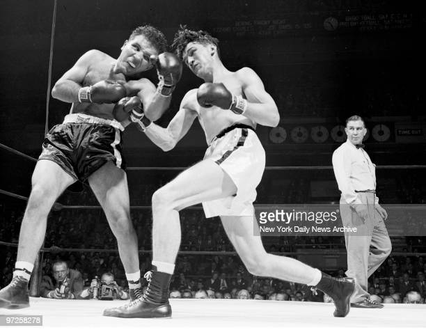 Everything was Jake in the Garden last night especially with Jake LaMotta who won a unanimous 10round decision over Tommy Yarosz Tommy is sending up...