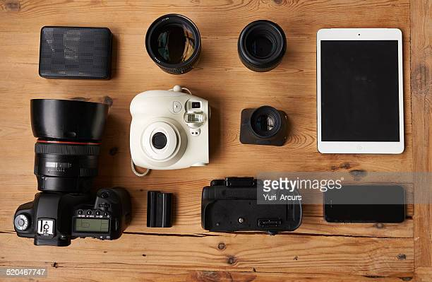 Everything you need to be a photographer