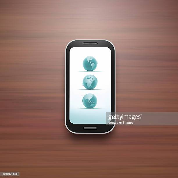 Everywhere usable Smart Phone with Touch Screen