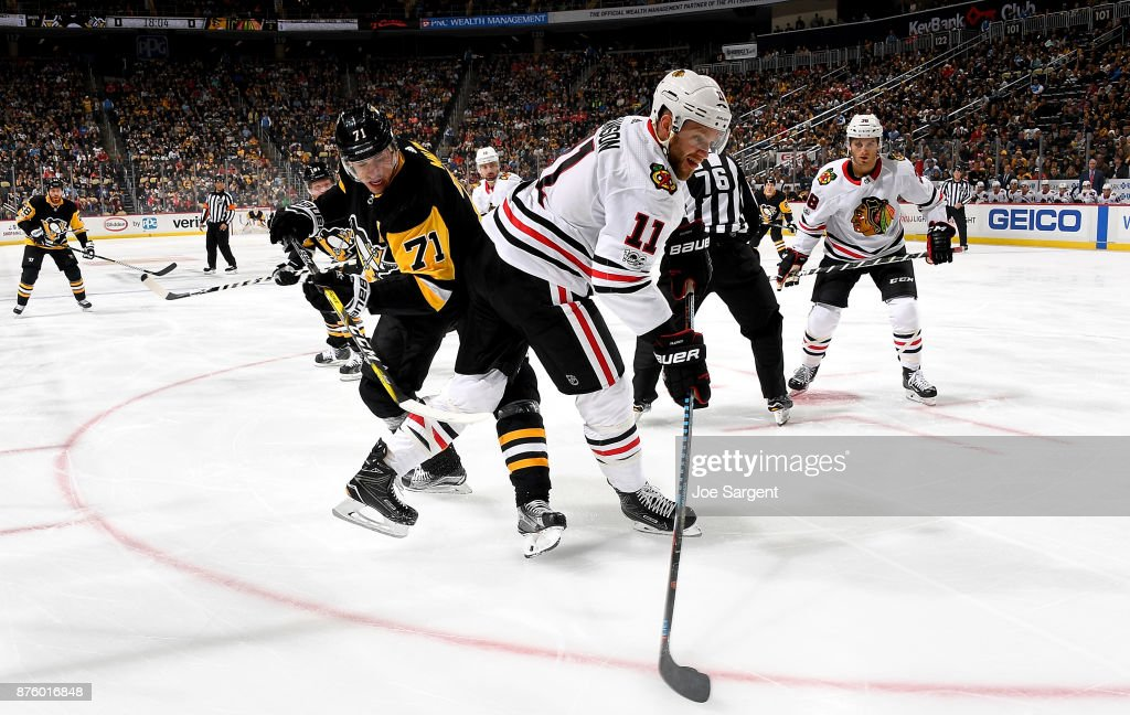 Chicago Blackhawks v Pittsburgh Penguins
