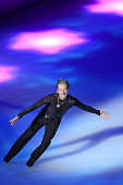 Evgeni Plushenko of Russia performs figure skating during the opening ceremony of 2015 Shanghai World Figure Skating Championships on March 25 2015...