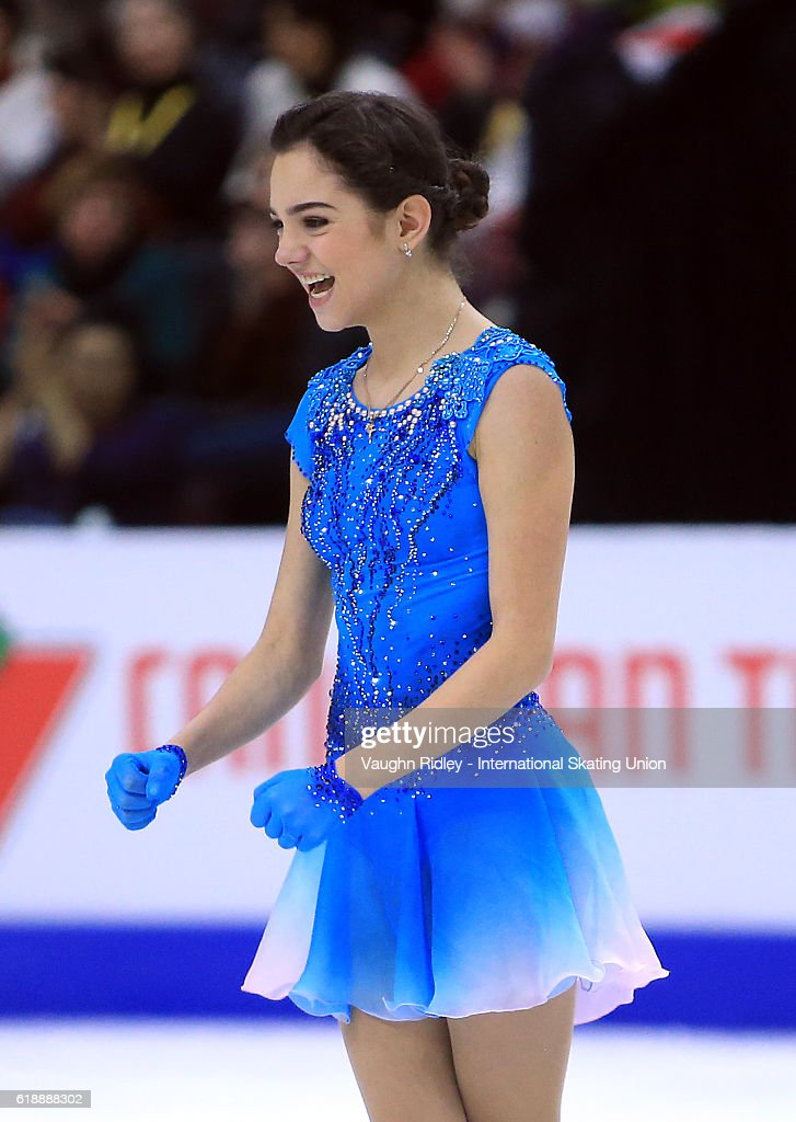 Евгения Медведева - 2 - Страница 39 Evgenia-medvedeva-of-russia-competes-in-the-ladies-short-program-the-picture-id618888302