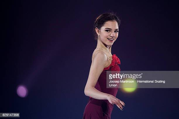 Evgenia Medvedeva of Russia performs during Gala Exhibition on day four of the ISU Junior and Senior Grand Prix of Figure Skating Final at Palais...