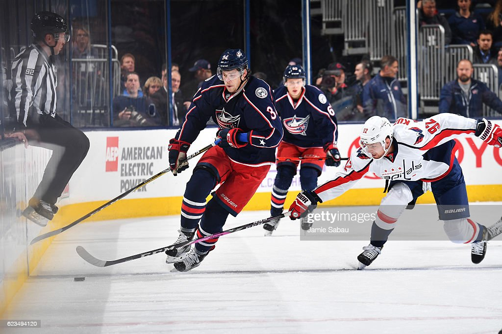 Washington Capitals v Columbus Blue Jackets Photos and Images ...
