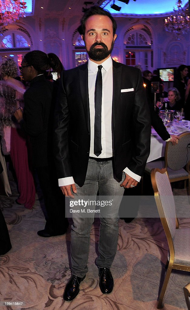 Evgeny Lebedev attends a gala evening celebrating Old Russian New Year's Eve in aid of the Gift Of Life Foundation at The Savoy Hotel on January 13, 2013 in London, England.