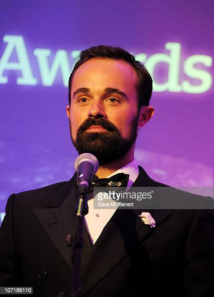 Evgeny Lebedev attends the London Evening Standard Theatre Awards ceremony at The Savoy Hotel on November 28 2010 in London England