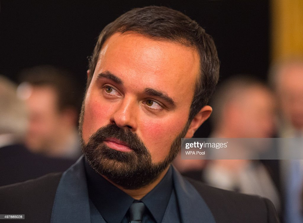 Evgeny Lebedev attendst the launch of the Centrepoint Awards at the HSBC private bank on November 19, 2015 in London, England. The event is the first awards ceremony for the youth homeless charity, celebrating the achievements of young people who have changed the direction of their lives after experiencing homelessness.