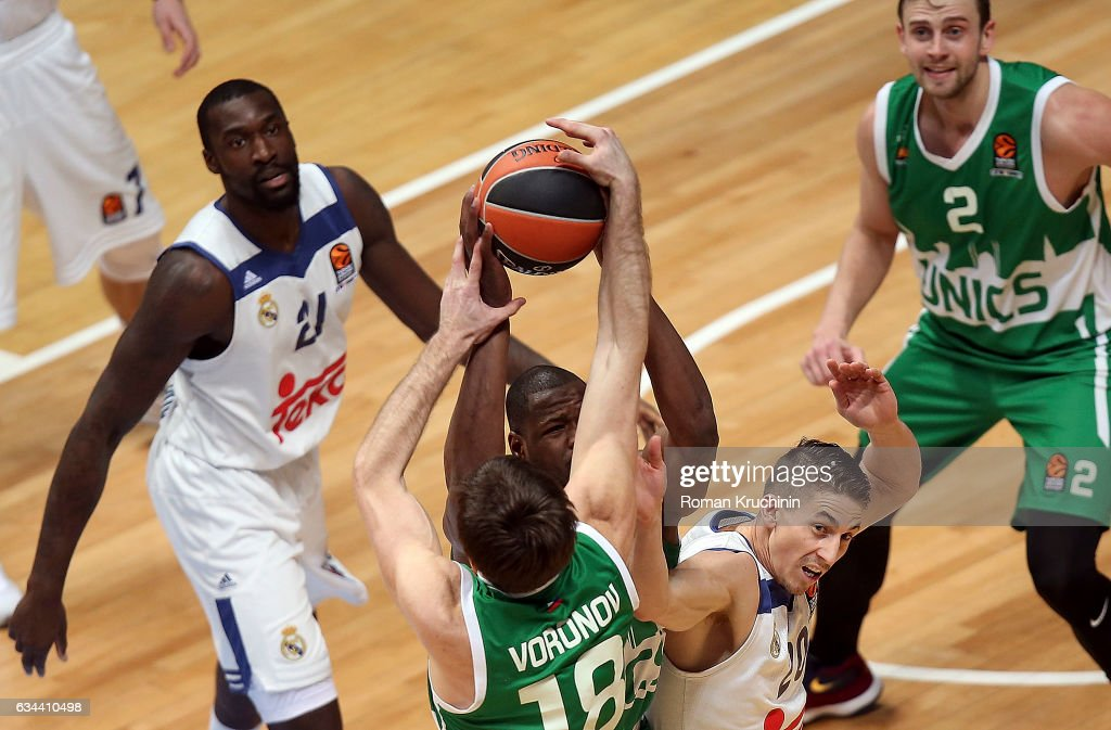 Unics Kazan v Real Madrid - Turkish Airlines Euroleague