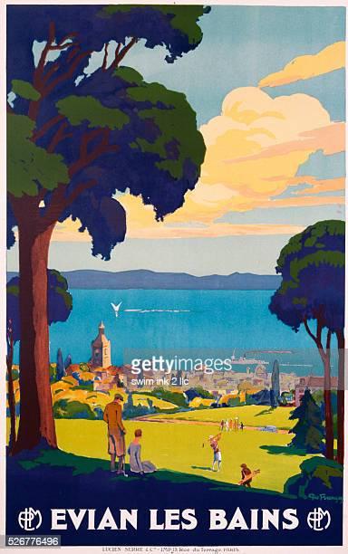 Evian Les Bains Poster by Geo Francois