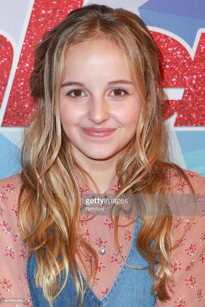 Evie Clair attends NBC's 'America's Got Talent' Season 12 Live Show at Dolby Theatre on August 22, 2017 in Hollywood, California.