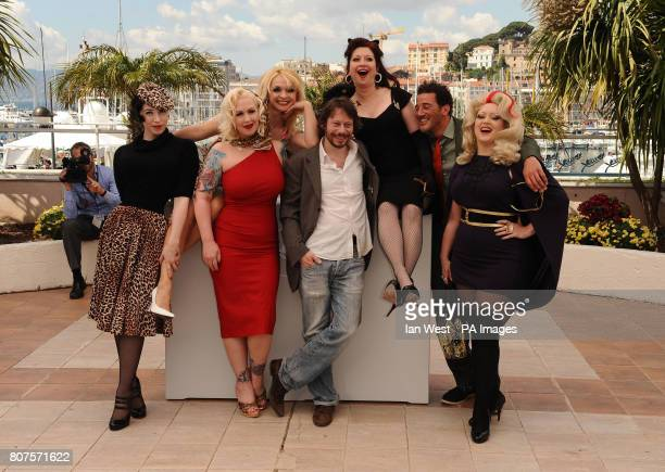 Evie LovelleMimi Le MeauxJulie Atlas Muz French director and actor Mathieu Amalric Kitten on the Keys Roky Roulette and Dirty Martini during the...