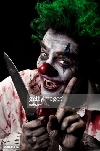 Evil Vampire Clown Stock Photo | Getty Images