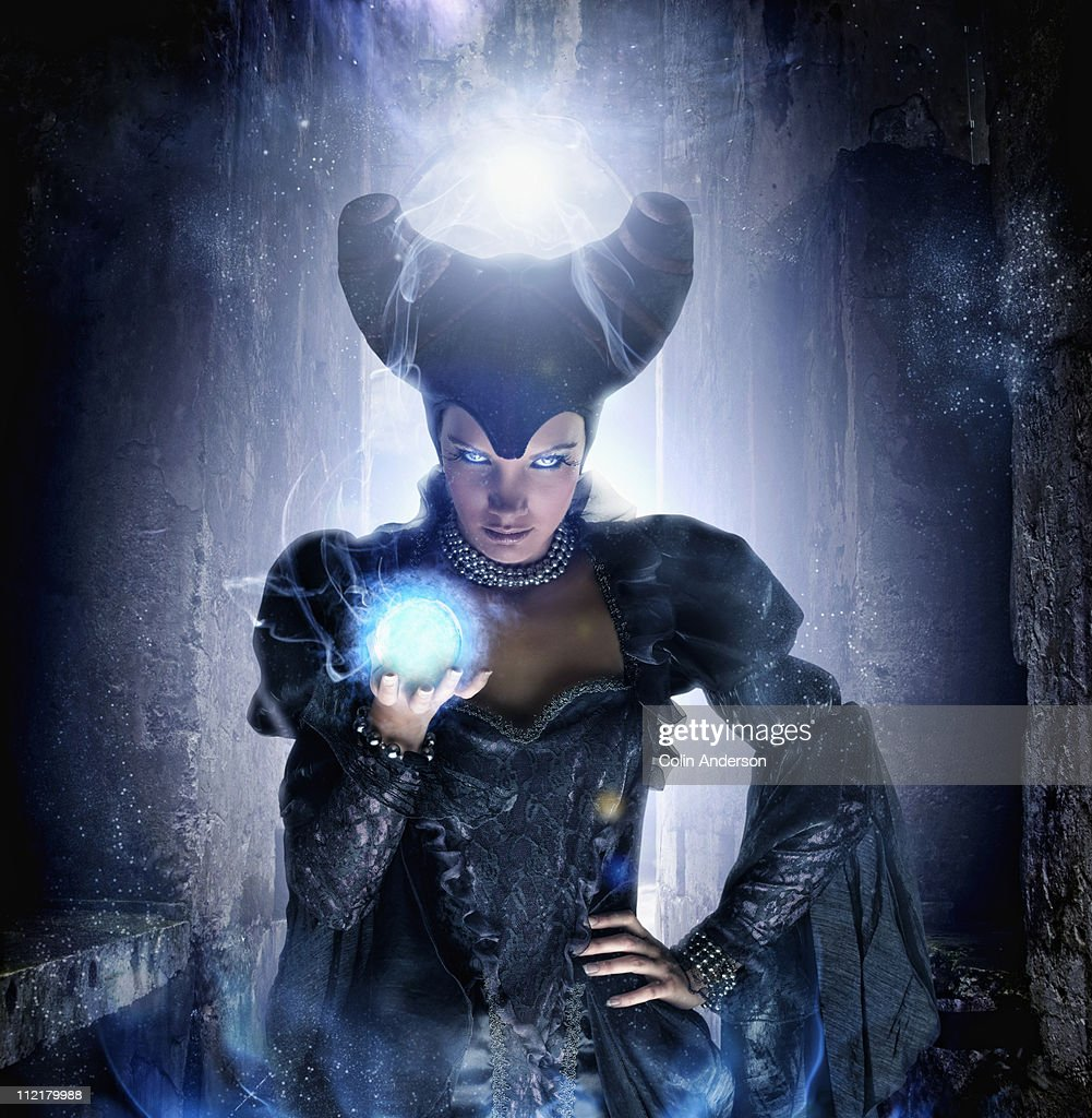 evil witch : Stock Photo