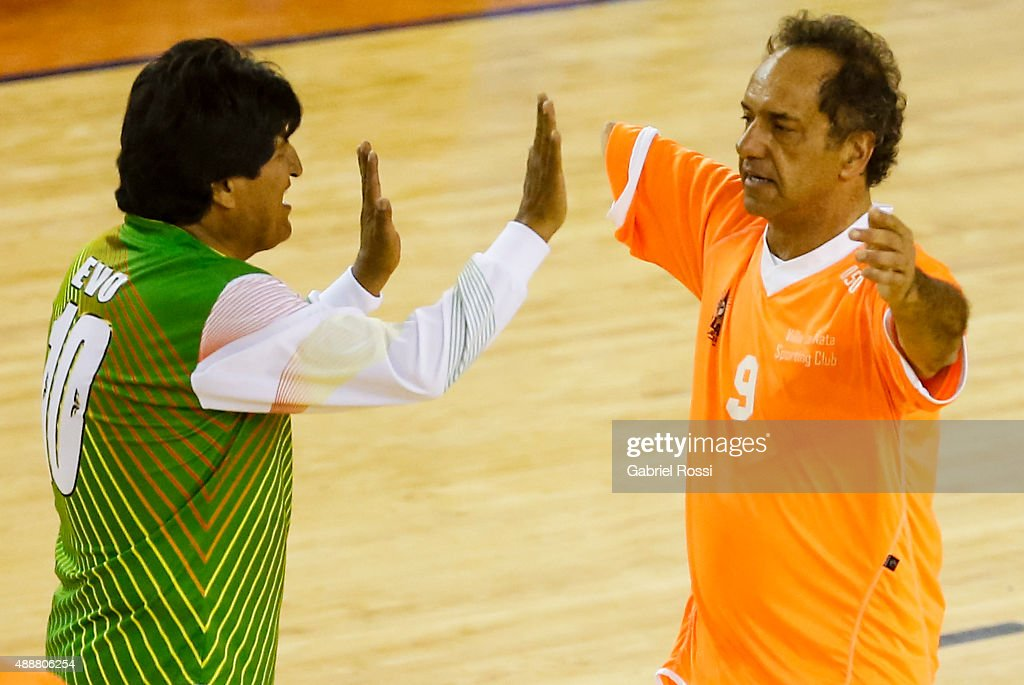 Evo Morales Backs Daniel Scioli Bid For Presidency
