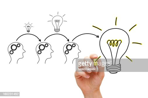 Evolution of an Idea : Stock Photo