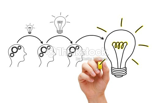 Evolution of an Idea : Stock Photo