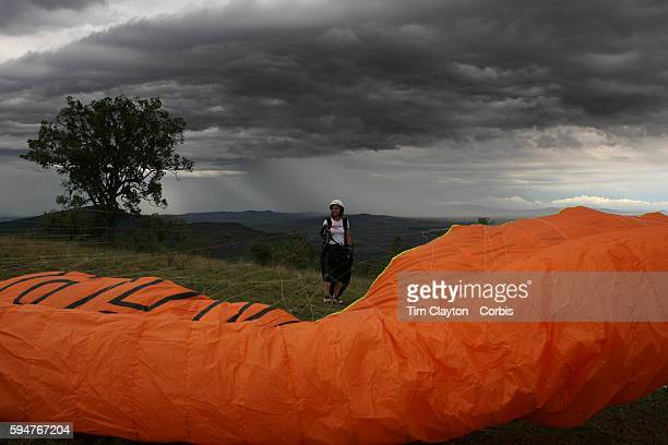 Ewa Wisnierska the German Paraglider pilot who reached an altitude of 9947 metres and survived lightning pounding hail minus 40degree temperatures...