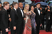 Ewan McGregor Alexander Payne Raoul Peck Diane Kruger Hiam Abbass and Nanni Moretti at the premiere for 'Amour' during the 65th Cannes International...