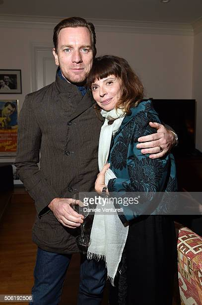 Ewan McGregor and Eve Mavrakis attend Cocktail Party Celebrating 1th Taormina Film Fest Los Angeles 2016 at Italian Cultural Institute Of Los Angeles...