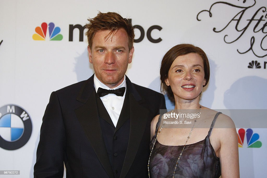 Ewan McGregor and Eve Mavrakis attend the 2010 MSNBC White House Correspondents Dinner After Party at the Andrew W. Mellon Auditorium on May 1, 2010 in Washington, DC.