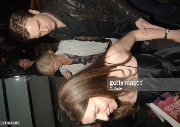 Ewan McGregor and guest during 'Guys and Dolls' Press Night After Party at Wardour Street in London Great Britain