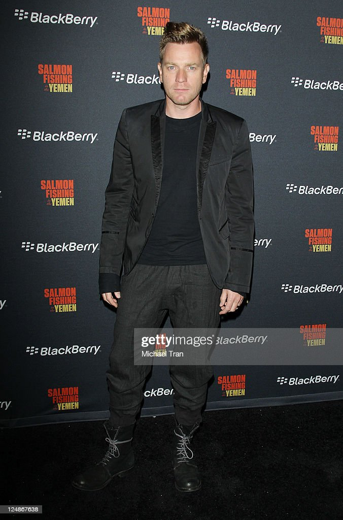 Ewan McGregor arrives at the 'Salmon Fishing In The Yemen' afterparty held during the 2011 Toronto International Film Festival held at the BlackBerry Lounge at Brassaii on September 10, 2011 in Toronto, Canada.