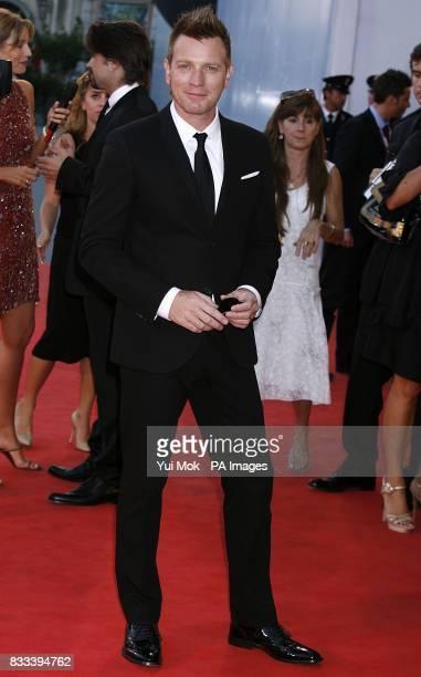 Ewan McGregor arrives for the premiere of 'Cassandra's Dream' during the Venice Film Festival in Italy
