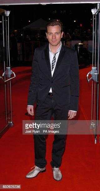 Ewan McGregor arrives for the world premiere of Miss Potter in London's West End