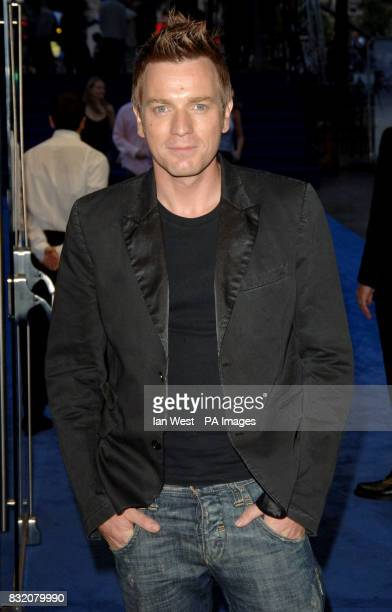 Ewan McGregor arriving for the European Premiere of Miami Vice at the Odeon Leicester Square central London Picture date Thursday 27 July 2006 See PA...