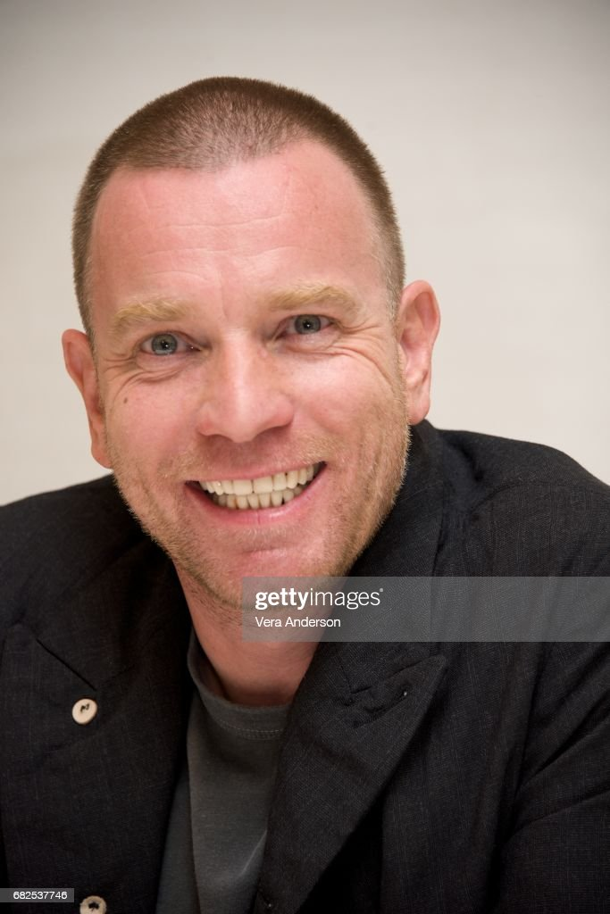 Ewan McGregor at the 'Fargo' Press Conference at the Four Seasons Hotel on May 11, 2017 in Beverly Hills, California.