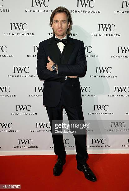 Ewan McGregor attend the IWC Inside The Wave Gala during the Salon International de la Haute Horlogerie 2014 at the Palexpo on January 21 2014 in...