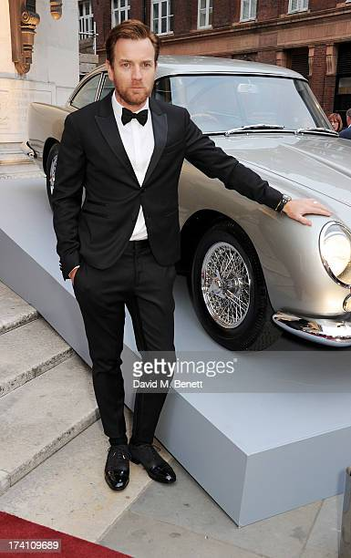 Ewan McGregor attends Aston Martin's Centenary Birthday Party celebrating 100 years as one of the world's most iconic automotive brands at Freemasons...