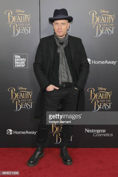 Ewan McGregor attends the 'Beauty And The Beast' New York Screening at Alice Tully Hall at Lincoln Center on March 13 2017 in New York City
