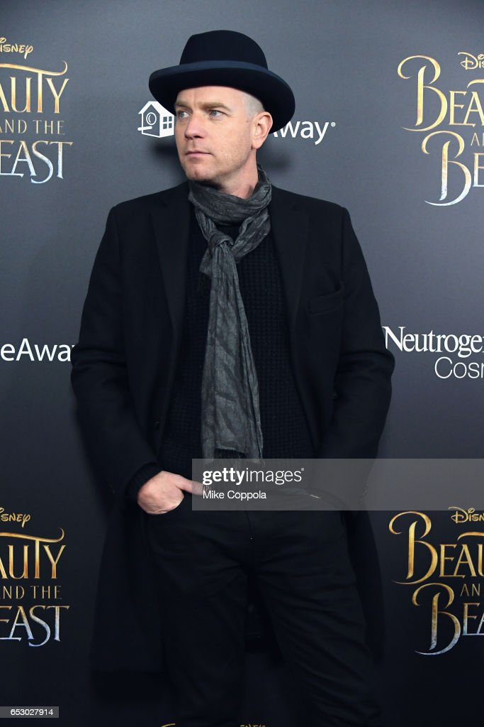 Ewan McGregor attends the 'Beauty And The Beast' New York Screening at Alice Tully Hall at Lincoln Center on March 13, 2017 in New York City.