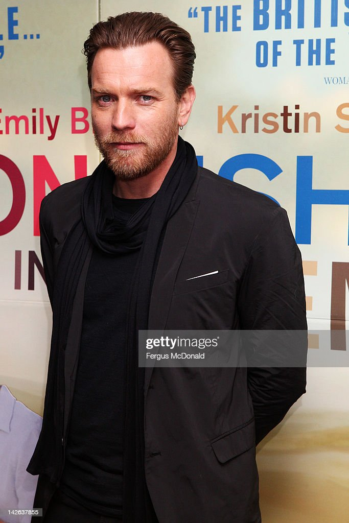 Ewan McGregor attends the European premiere of Salmon Fishing In The Yemen at The Odeon Kensington on April 10 2012 in London England