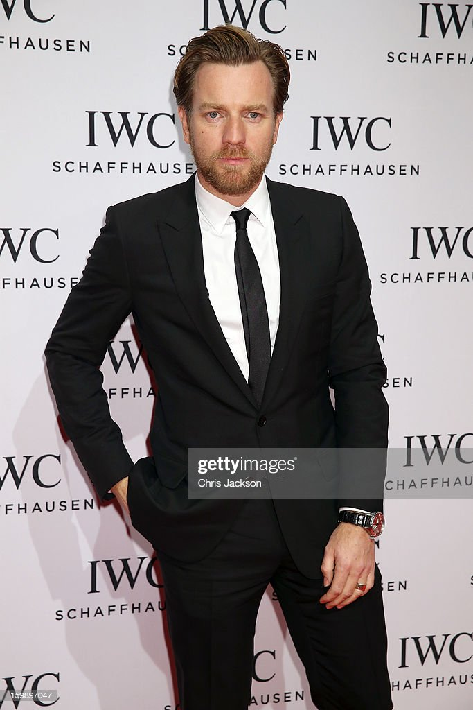 Ewan McGregor attends the IWC Schaffhausen Race Night event during the Salon International de la Haute Horlogerie (SIHH) 2013 at Palexpo on January 22, 2013 in Geneva, Switzerland.